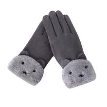 KANCOOLD winter gloves women Fashion 1 Pair s Full Finger Mi