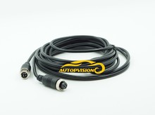 5M  4P Aviation Connector Video Audio Extend Cable for CCTV Camera DVR