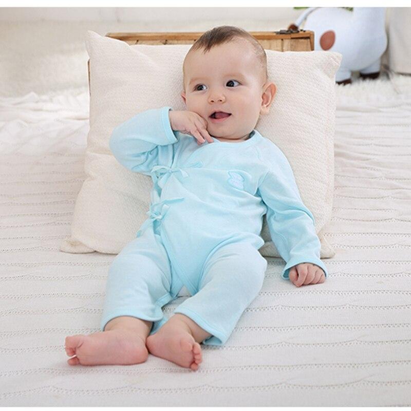 Pasgeboren kleding Baby Girl Jongen Romper Cartoon Lange mouw - Babykleding - Foto 2