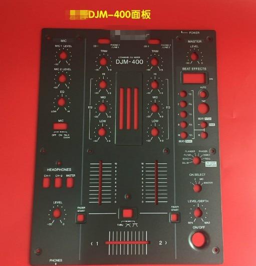 DJM-400 Front Plate Control Panel DNB1145  DJM400 Mixer switch кейс для микшерных пультов thon mixer case pioneer djm 2000