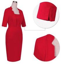 New Vestido Fashion Women Tropical Vintage Business Dresses Bodycon Pencil Sheath Costume Shift Tunic Dress 693