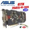 Asus GTX 750TI OC 2GD5 Power Cable GTX750TI GTX 750TI 2G DDR5 128Bit PC Desktop Graphics