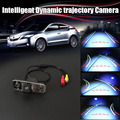 CCD COMS Intelligent Dynamic trajectory Sport License Plate Camera Rear View Backup Parking For Hyundai Azera / Grandeur