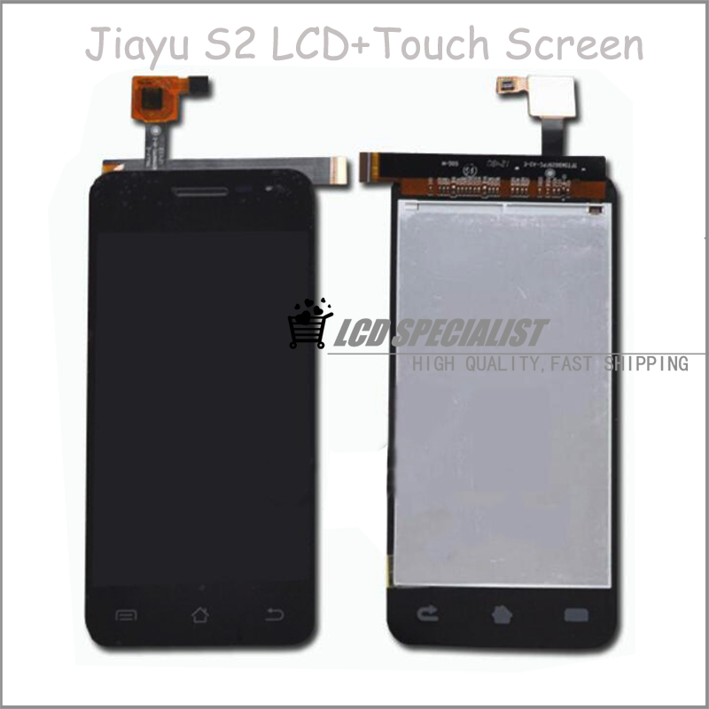 5 Inch Black Jiayu S2 LCD Display+Touch Screen Digitizer Glass Sensor Full Assembly Replacement