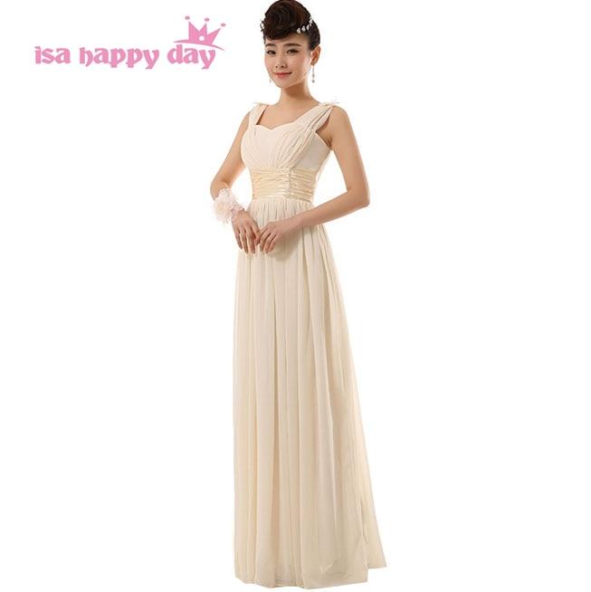 special occasion vestidos vestido de festa longos elegant women formal champagne colored evening gowns dresses long dress H2696