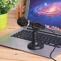 Ноутбук Настольный Микрофон KTV-307 Провода Караоке Ручной Микрофон 3.5 мм Mic С Базой Для Пения Записи