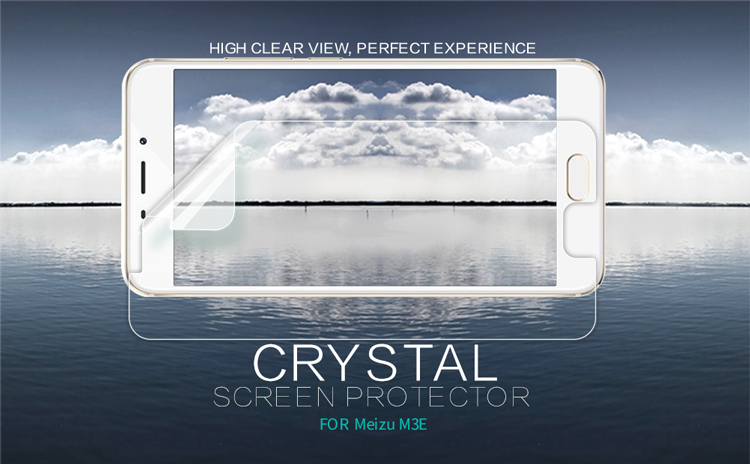Original nillkin Super Clear HD película protectora anti-huellas ...