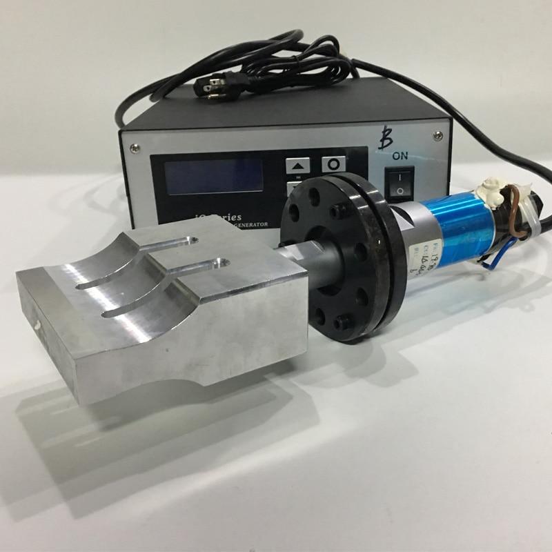 2000W Ultrasonic Welding Transducer With Horn And 20khz Ultrasonic Welding Generator