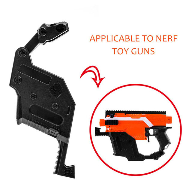 WOR KER Modification Accessories MOD Style Mount Combo Imitation Parts For  Nerf Stryfe Toy Gun Peashooter