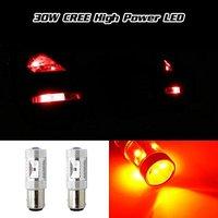 Free Shipping 2pcs CREE XBD 30W 1157 BAY15D P21 5W LED Brake Light Car Tail Light