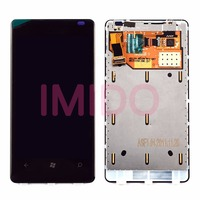 For Lumia 800 LCD Display Touch Screen Digitizer Assembly Frame Replacement Parts