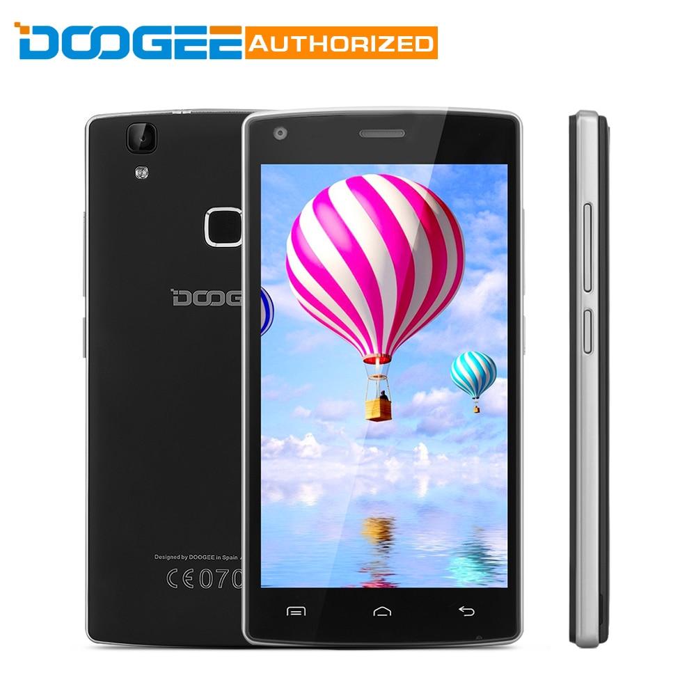 DOOGEE X5 Max Pro 2GB+16GB MTK6737 5.0 Inch Android 6.0 Smartphone 4000MAh Quad Core Fingerprint Sensor