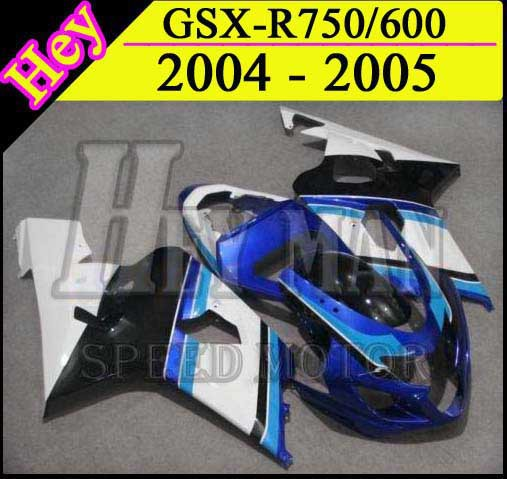 GSXR750 2005 2004 bulack white Body Kit Fairing for Suzuki GSX-R600 2004 GSXR750 2005 GSX-R 600 750 2004 2005 K4 front upper fairing cowling headlight headlamp stay bracket holder for 2004 2005 suzuki gsxr600 gsxr750 gsxr gsx r 600 750 k4 k5