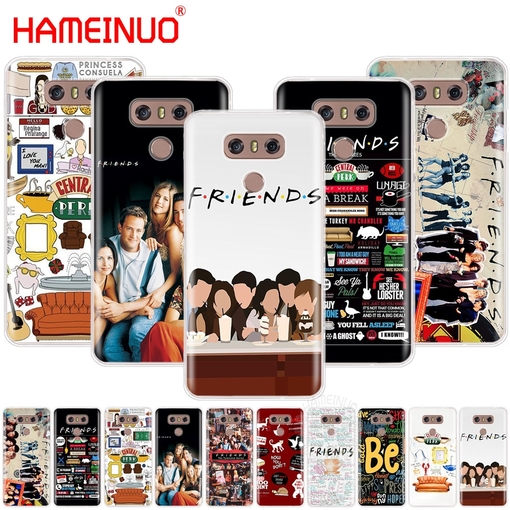 HAMEINUO TV Friends Forever case phone cover for LG Q6 G6 MINI G5 K10 M250N 2017 2016 X POWER 2 V20 V30 image
