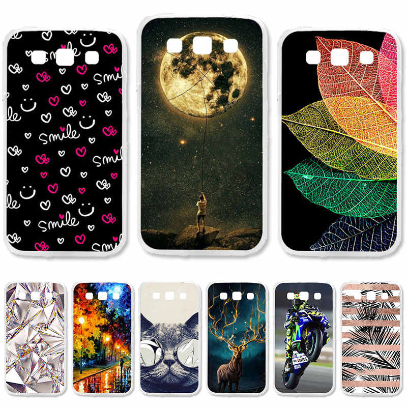 TAOYUNXI Soft TPU Case For Samsung Galaxy Win I8550 Cases For Galaxy Win I8552 GT-i8552 GT i8558 8552 4.7 inch DIY Painted Cover