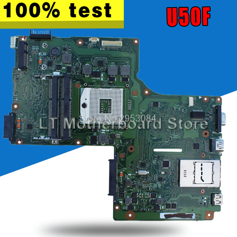 U50F Motherboard REV 2.0 PGA989 For ASUS U50F Laptop motherboard U50F Mainboard U50F Motherboard test 100% OKU50F Motherboard REV 2.0 PGA989 For ASUS U50F Laptop motherboard U50F Mainboard U50F Motherboard test 100% OK