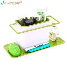 Joyathome أكبر حجم مصرف حوض المطبخ تخزين الرف الإسفنج غسل الاطباق شماعة ملابس المطبخ تخزين Cocina Organizador