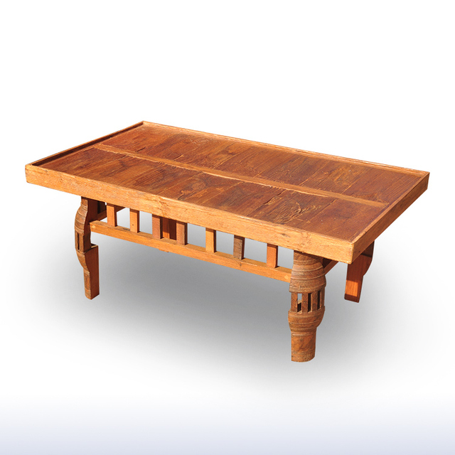 Thai Crafts Decorative Wood Home Furnishing Living Room Coffee Table Teak  Dining Tables Southeast Asian Style Coffee Table