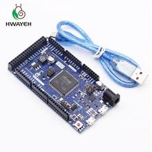 Arduino Due 2012 R3 ARM sürüm ana kontrol panosu SAM3X8E 32 bit ARM Cortex M3 / Mega2560 R3 Duemilanove