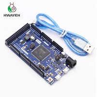 Pour arduino Due 2012 R3 bras Version carte de commande principale SAM3X8E 32 bits bras Cortex-M3/Mega2560 R3 Duemilanove