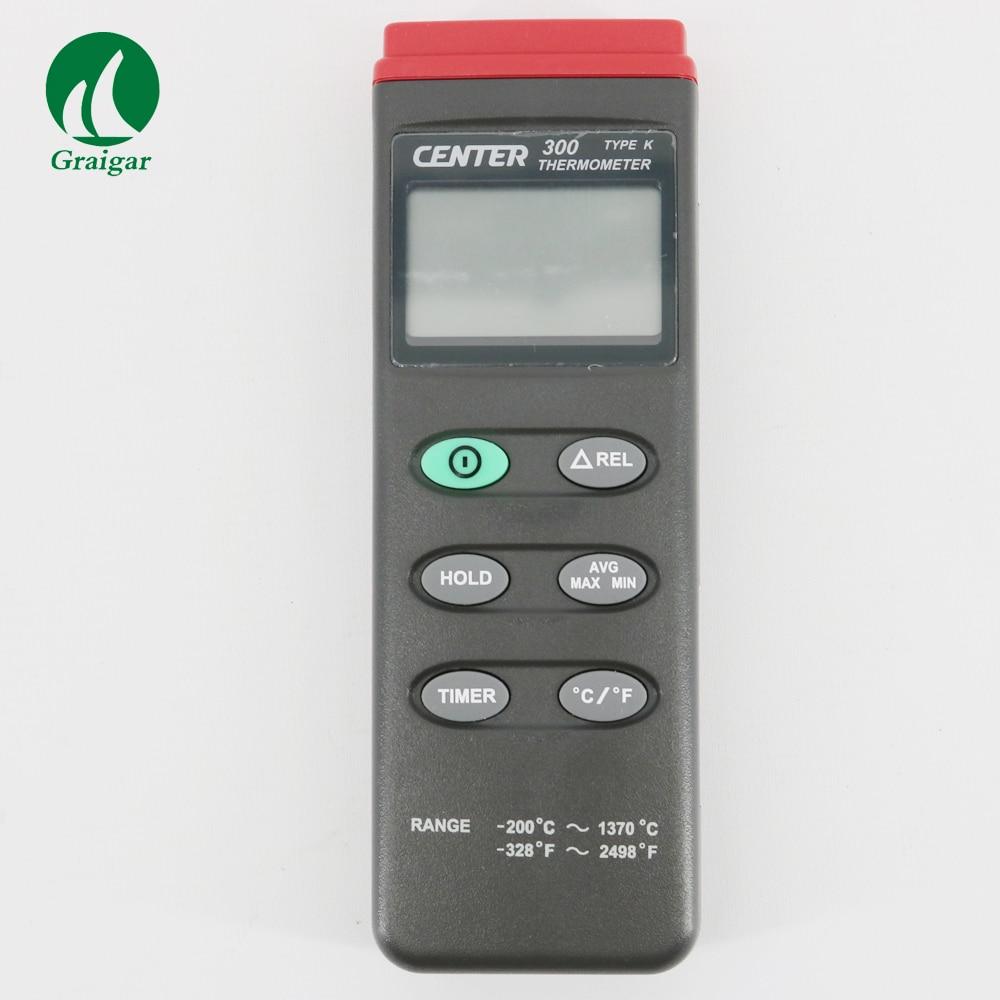 Digital Thermometer CENTER-300 Temperature Recorder Simultaneous MAX AVG MIN Measurement цена