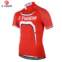 X-Tiger Speed Fork maillot Cycling Jersey/mtb bike clothing/Men bicycle clothes/Ropa De Ciclismo cycling wear Cycling Clothing