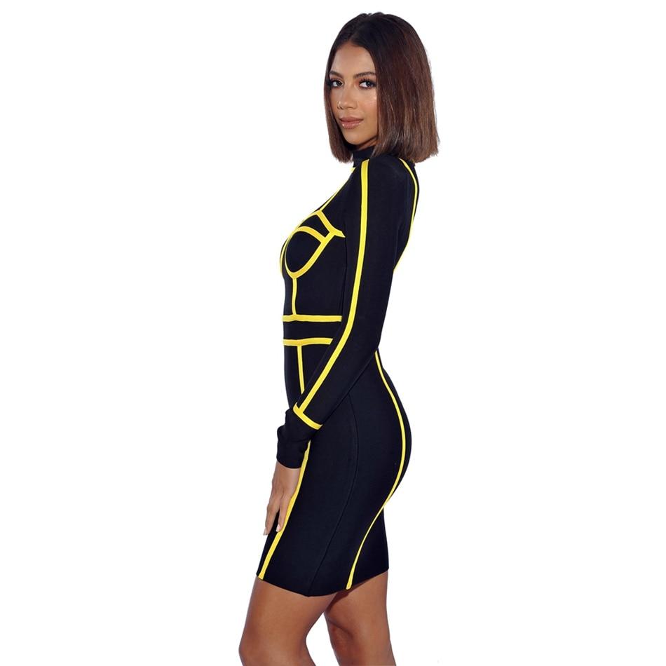 leger babe bandage dress-090