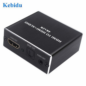 Image 5 - KEBIDU HDMI Audio Extractor AY78 HDMI to HDMI Optical TOSLINK SPDIF+3.5mm Stereo Extractor Converter HDMI Audio Splitter Adapter