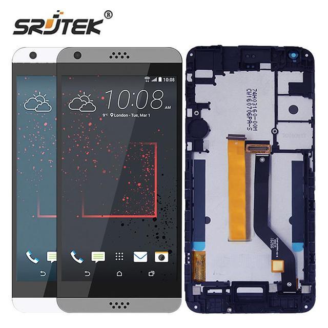 Srjtek для HTC Desire 530 ЖК-дисплей Дисплей Сенсорный экран планшета Сенсор Стекло сборки 1280x720 5.5 ''для HTC Desire 530 touch