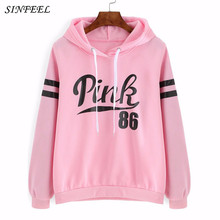 2017 Women Tracksuit Hoodies Sweatshirt Female Long Sleeve Pink Casual Harajuku Winter Hoodie Pullovers Jumper Sudaderas Mujer