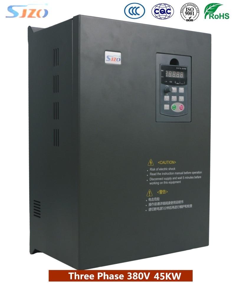 цена на Original SJZO 511 Serie Heavy Duty Vector 45KW Frequency Inverter 50hz to 60hz Variable Speed Electric Motor AC Drive/VFD/VSD