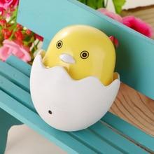 Plug Duck Wall Socket with Light Control Sensor