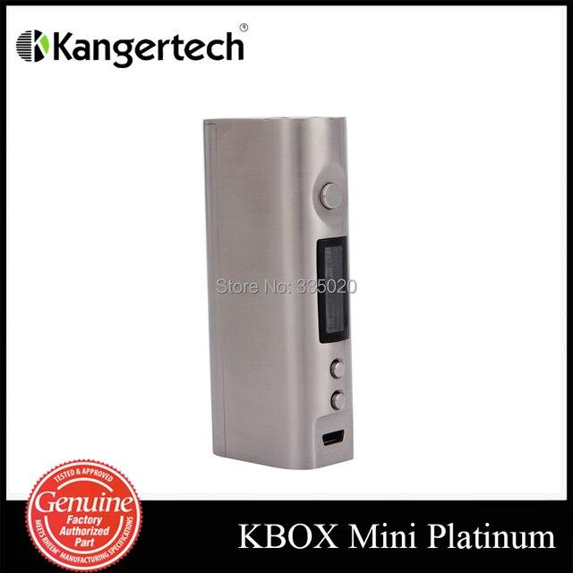 Original kang KBOX platino Mini Control de la temperatura 60 W caja Mod KBOX platino Mini TC Mod plata