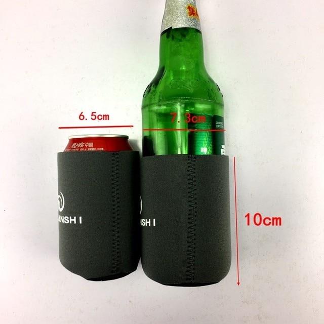 5pcs Neoprene Can Cooler Beer lunch picnic basket bag Drinks Bottle Sleeve Holder Orange Party outdoor tableware camping stove