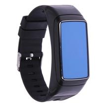 Smart Браслет B7 Bluetooth наушники Стиль монитор сердечного ритма умный будильник Smart Браслет 0.71 »OLED спортивные SmartWatch Android/ IOS