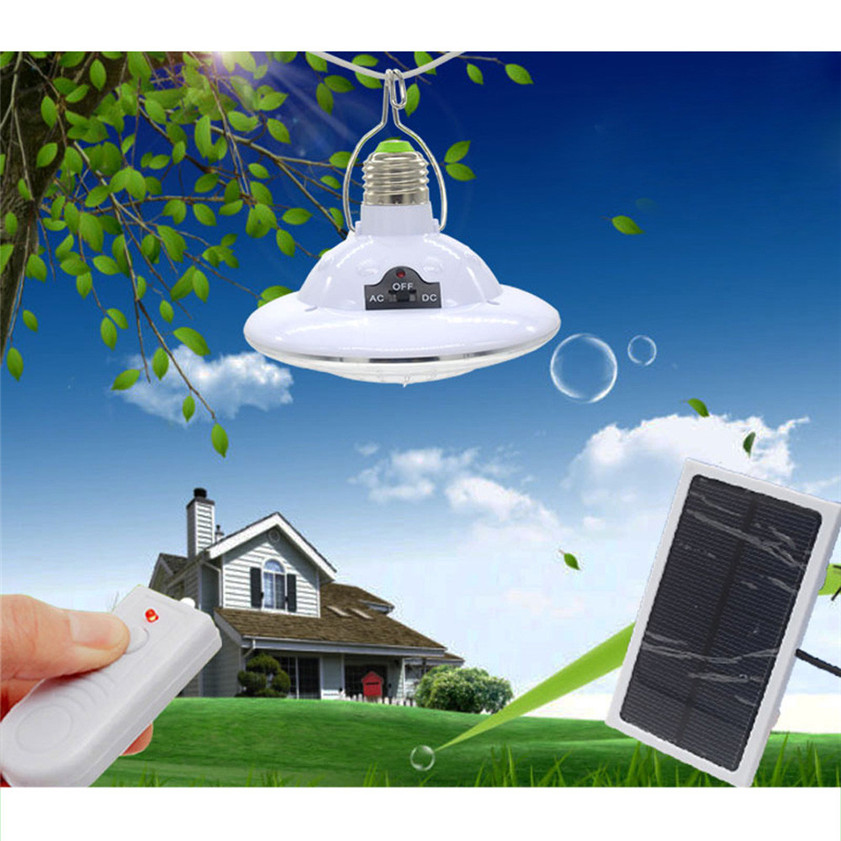 High Quality Upgrade Remote Control Solar Lights Emergency Lights 22 LED Energy Saving Lamps