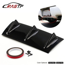 RASTP-Universal Auto Rear Bumper Chassis Shark Fin Diversion Plate Fittings 3 Wing Size S RS-LKT025-S