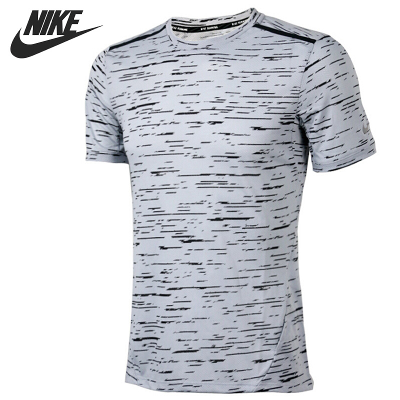 Original New Arrival NIKE DRY TOP SS TAILWIND Men's T-shirts short sleeve Sportswear