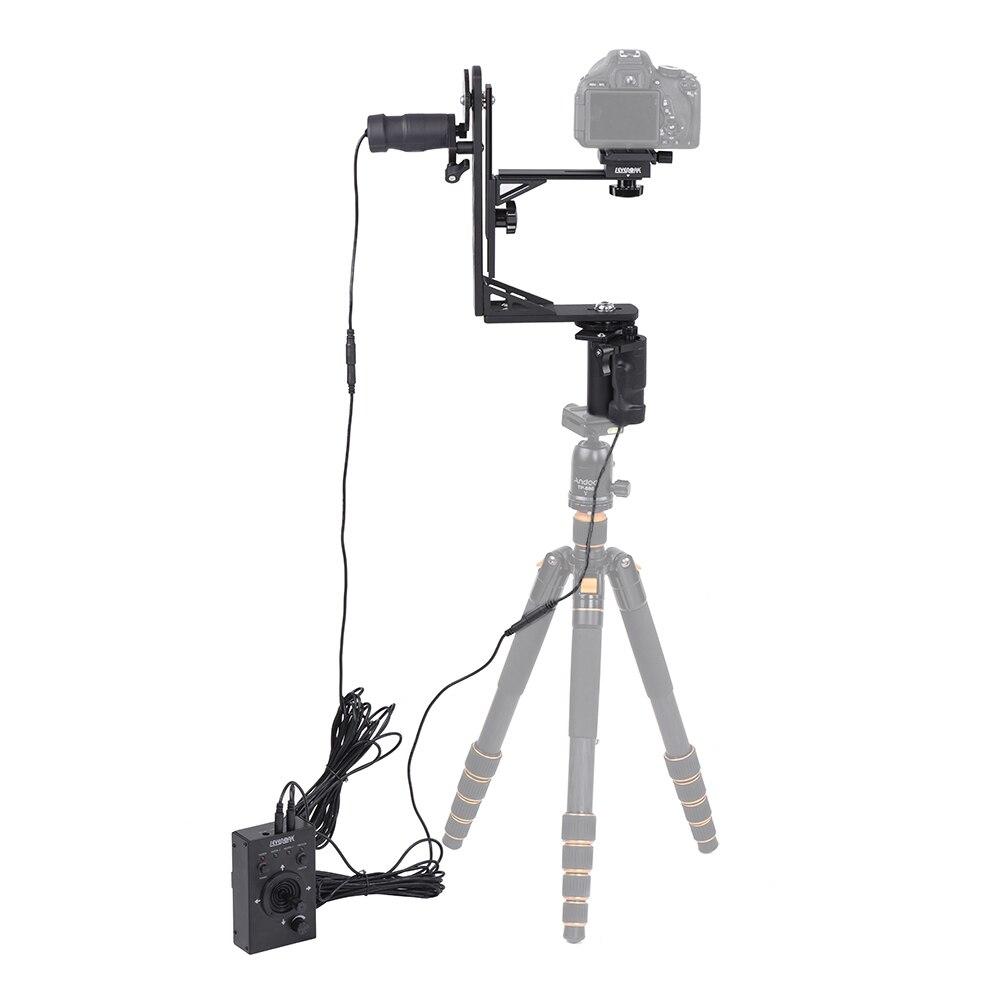 bilder für Sk-ech03 elektrische stativkopf 360 grad motorisierten schwenk-neige-kopf für canon nikon sony dslr camera fotografie studio