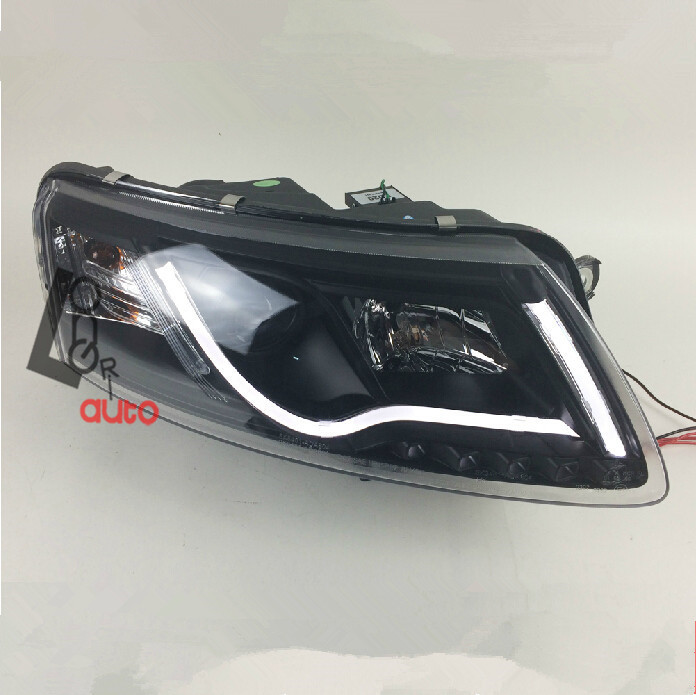 car styling Bi-xenon Projector Headlight with LED DRL For Audi A6 2006-2008 head lamp