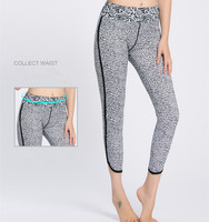 New Women Leopard Print Sport Running Leggings Bodyslim Fitness Yoga Pants Ladies Slim Legging Sports Tights