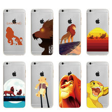 The Lion King Soft TPU Cute Cartoon Phone Case For iPhone 6 6S X XS Max 220x220q90