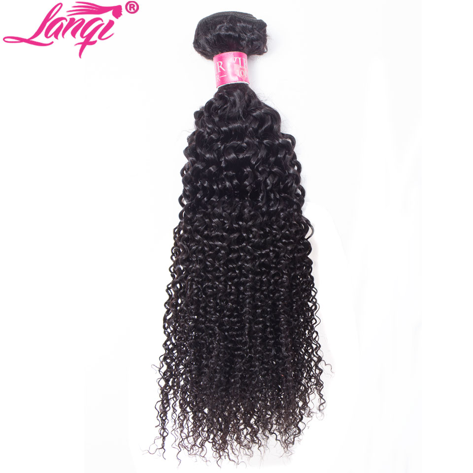 Hair-Bundles Weave Mongolian Curly Kinky Non-Remy Brazilian Peruvian Can 3 Buy