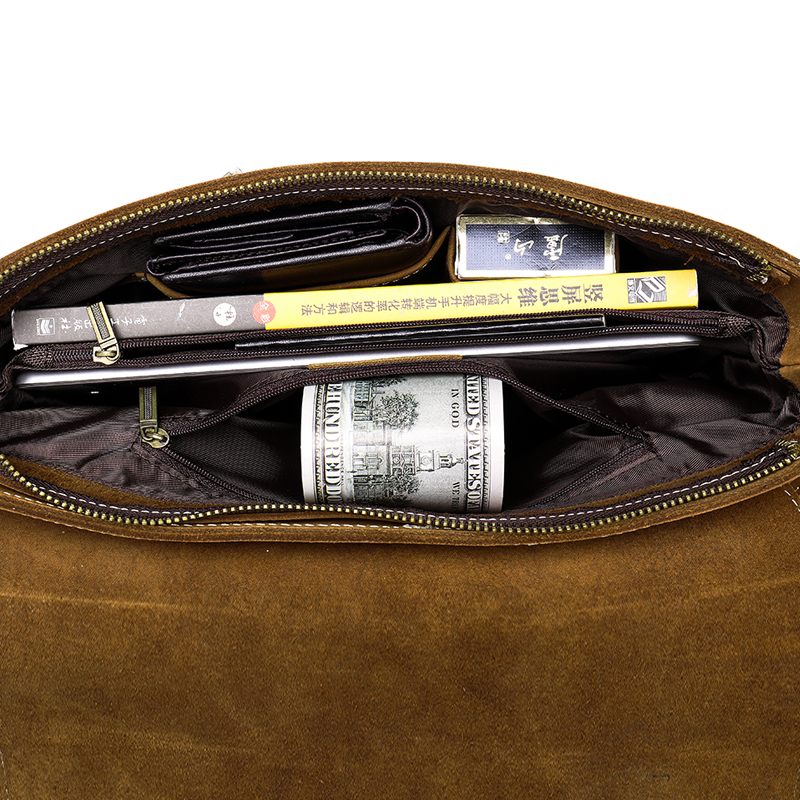 Echtes Männer 1061v4redcoffee Schulter Männlich Handtasche Mann Umhängetaschen Leder Für Herren Aktentaschen 1061 Tasche Casual Messenger Westal EUZx0nqwt