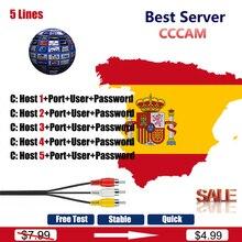 1 año Europa Cccam Clines España Portugal Alemania Polonia Italia cccam clines por DVB-S2