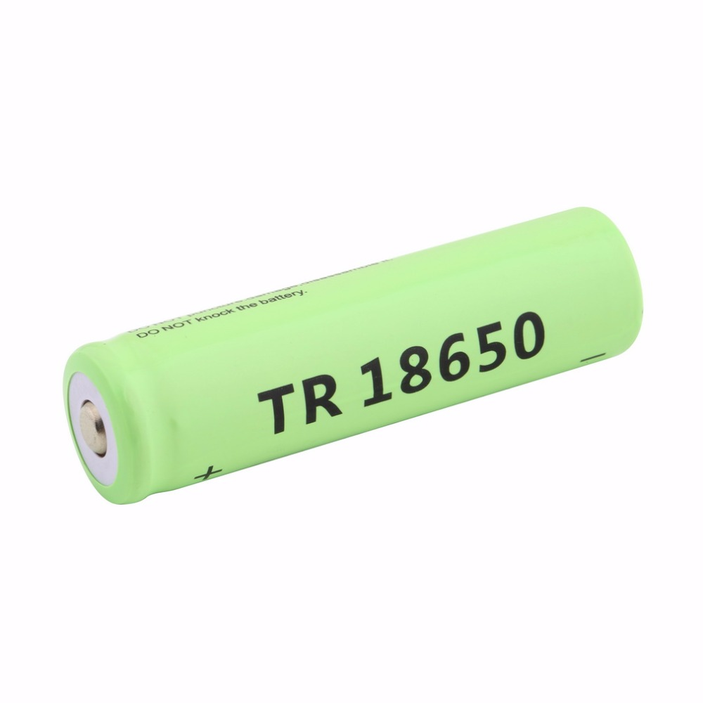 18650 Li Ion 5800mah Capacity 3.7V Rechargeable Battery For LED Torch Flashlights Blue Torch Batteries