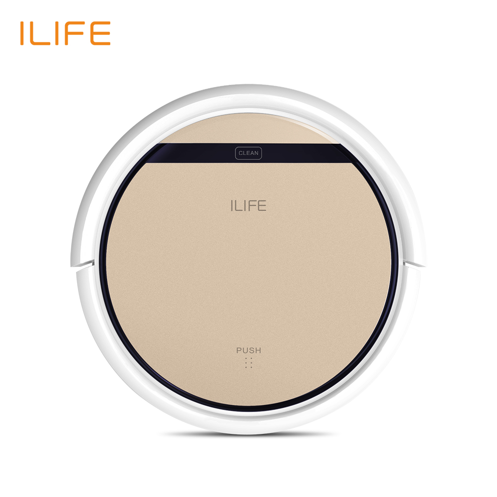 ILIFE V5s Pro Intelligent font b Robot b font Vacuum Cleaner with 1000PA Suction Dry and