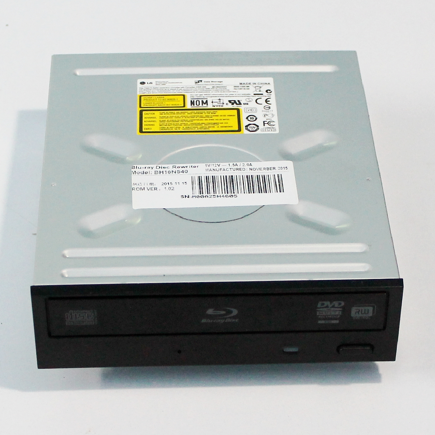 OEM For LG BH16NS48/40 SATA BDXL Super Multi Internal SATA 16x Blu-ray Disc Rewriter Burner Drive 3D Play, Can Write 100GB/128GB шрамы 3d blu ray