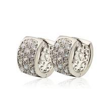 Хрустальные серьги кольца для женщин e2233