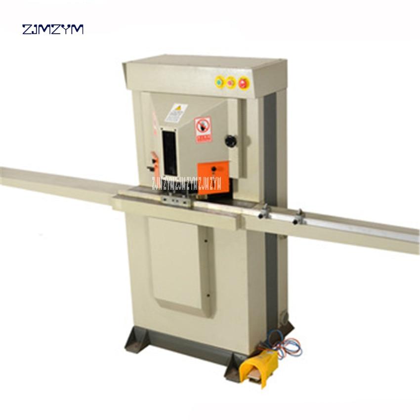 5127 Air-driven Aluminum Frame Cutting Machine 110V/220V/380V/415V Double Photo Frame Cutting Machine Working Pressure 0.6-0.8